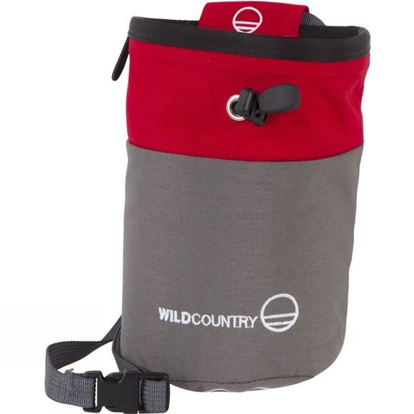 Wild Country Petit Bloc Chalk Bag Red