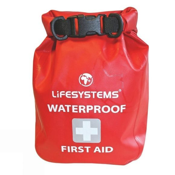 Lifesystems Waterproof First Aid Kit Red