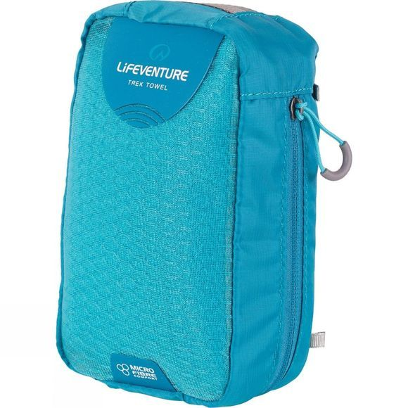 Lifeventure MicroFibre Trek Towel - Large Bright Blue