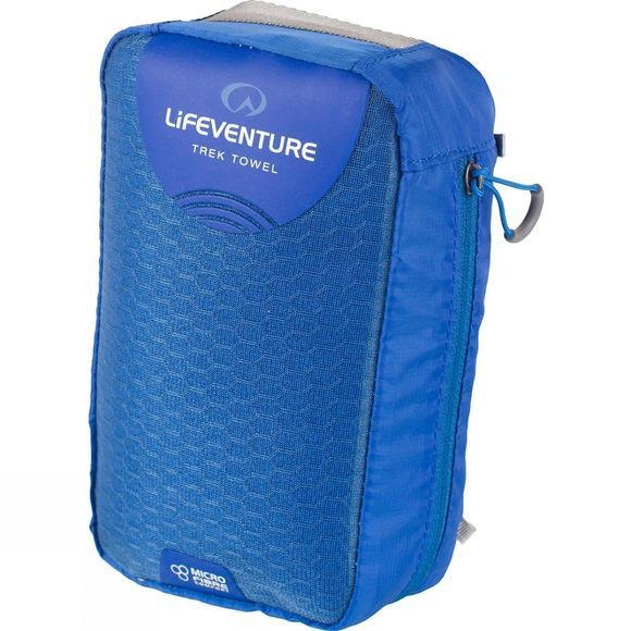 Lifeventure MicroFibre Trek Towel - X Large Blue