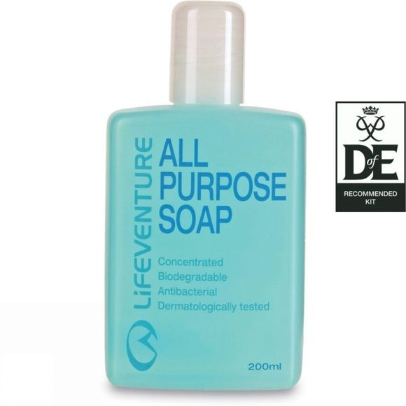 Lifeventure All Purpose Soap (200ml) No Colour
