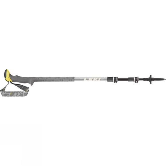 Leki Sherpa XTG (Single) Trekking Pole Grey/Yellow
