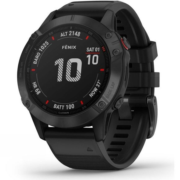 Garmin Fenix 6 Pro Multisport GPS Watch Black
