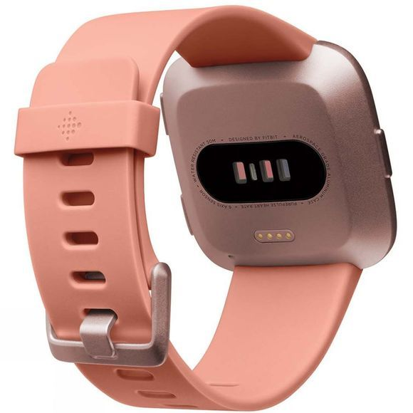 Fitbit Versa Watch Peach/Rose Gold Aluminium