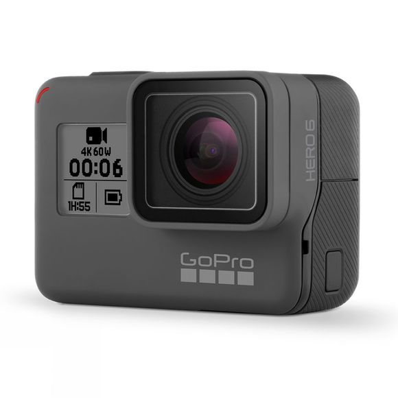 GoPro HERO6 Action Camera Black + 32GB MicroSD Card  .