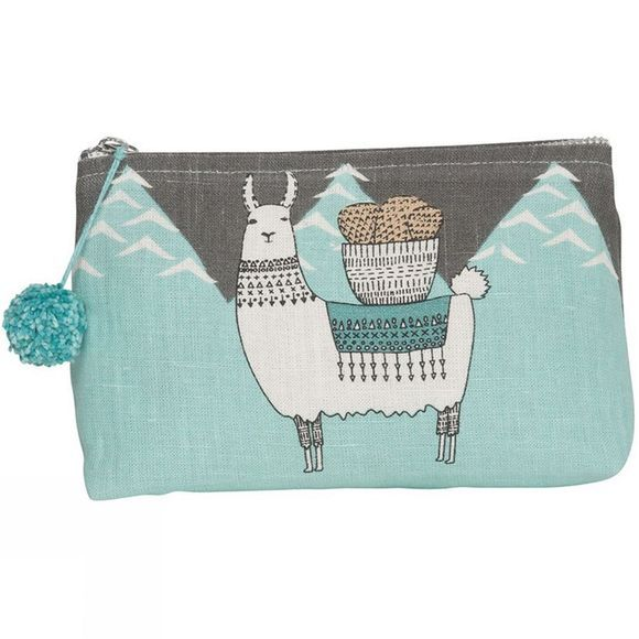 Llamarama Small Cosmetic Bag