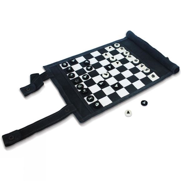 Gift Republic Travel Chess and Checkers No Colour