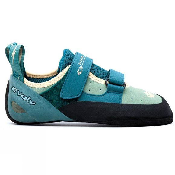 Evolv Womens Elektra Rock Shoes Turquoise/Green