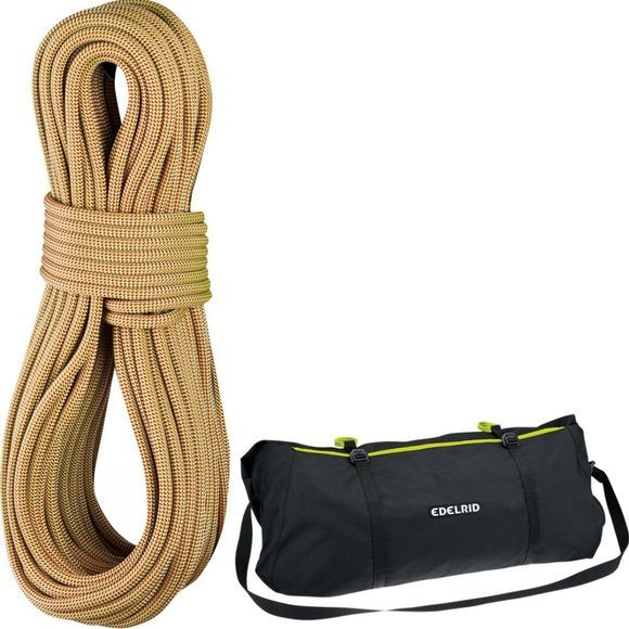 Edelrid Boa 9.8mm x 80m Rope + Liner Oasis/Flame