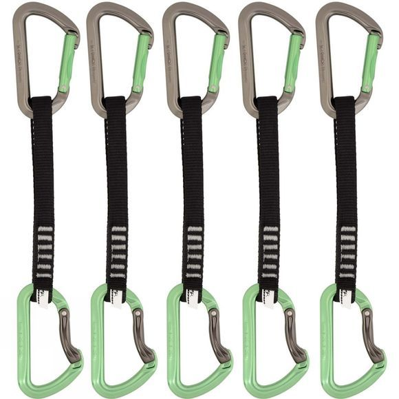 DMM Aero Quickdraw Set 18cm - 5 Pack Green