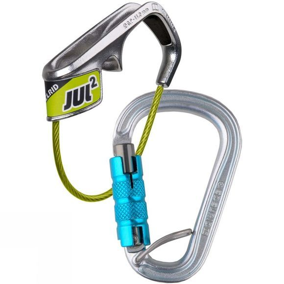 Edelrid Jul 2 Belay Kit Steel Triple Belay Icemint