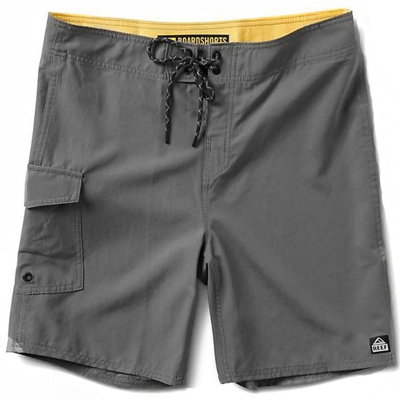 Reef Mens Reef Lucas 3 Shortie Grey