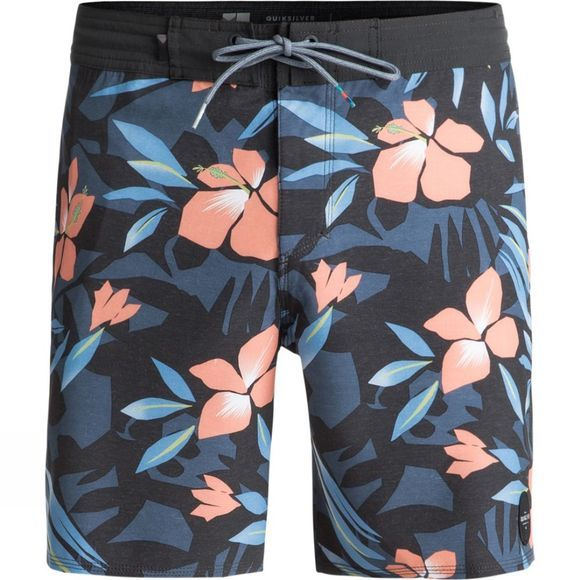 "Quiksilver Men's Cut Out 18"" Beach Shorts Silver Lake Beach"