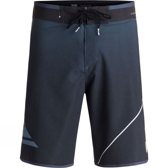 "Quiksilver Men's Highline New Wave 20"" Board Shorts Blue Night"