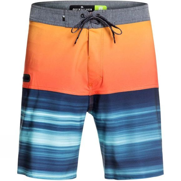 Quiksilver Mens Highline Hold Down 18' Broad Shorts Tiger Orange