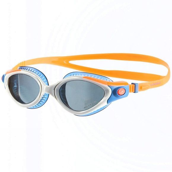 Speedo Futura Biofuse Flexiseal Triathlon Goggle Fluo Orange/ White/ Smoke