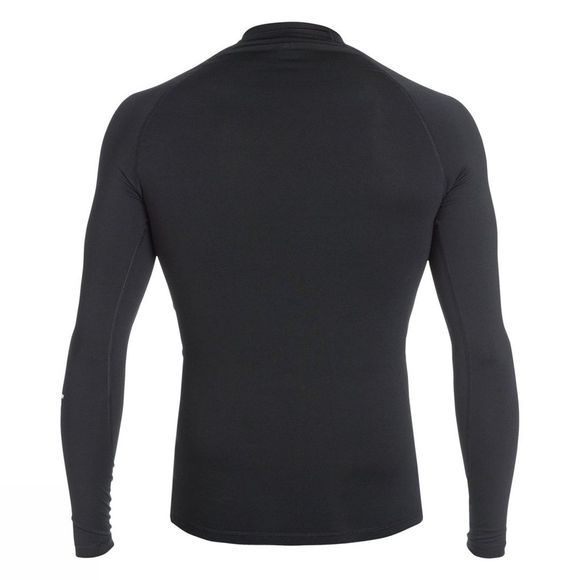 Quiksilver Men's All Time Long Sleeve Rash Guard Black