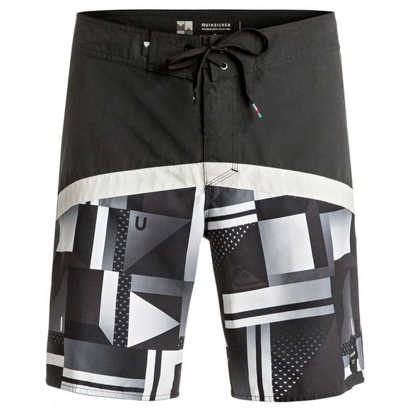 "Men's Check Crypt Vee 19"" Boardshort"