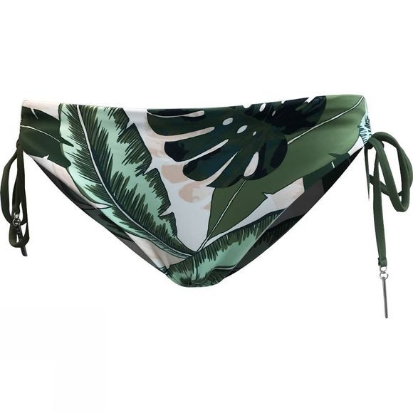 Womens Loop Tie Side Hipster Bikini Pant