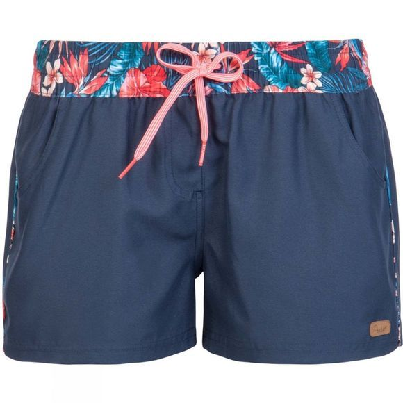 Protest Womens Peak Beachshorts Deep Kobalt
