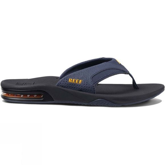 Reef Mens Fanning Flip Flop Navy/Yellow