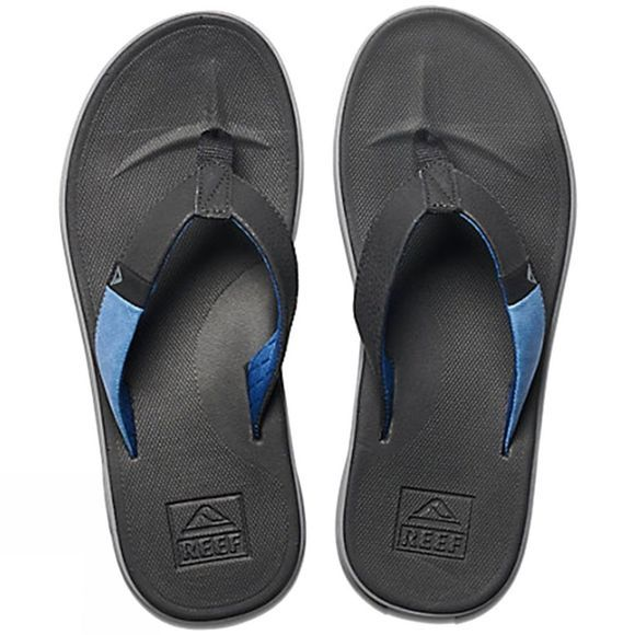 Reef Men's Slammed Rover Flip Flops Black/Blue