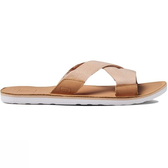 Reef Women's Voyage Slide Flip Flops Natural