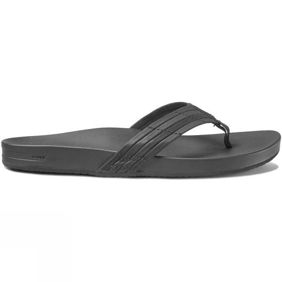 Reef Womens Cushion Bounce Sunny Flip Flop Black
