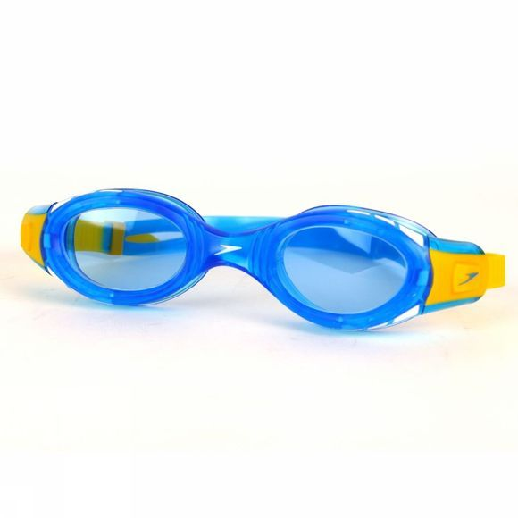 Speedo Kid's Junior Futura Biofuse Goggle Blue/ Yellow