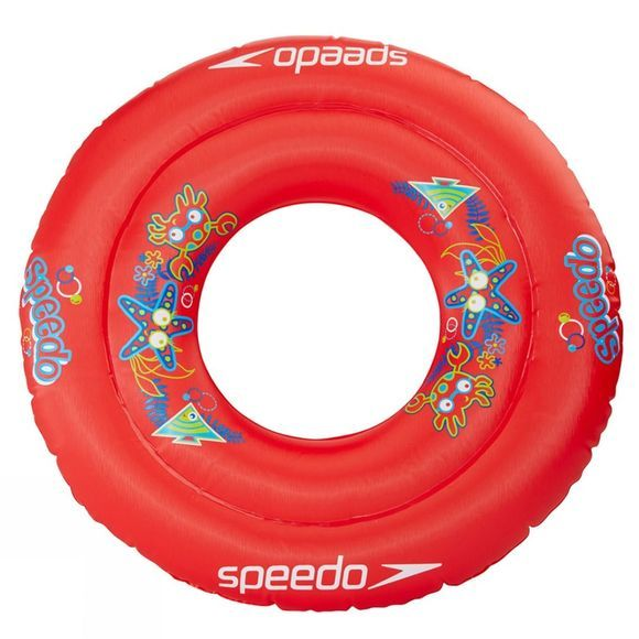 Speedo Kids Sea Squard Swim Ring Lava Red