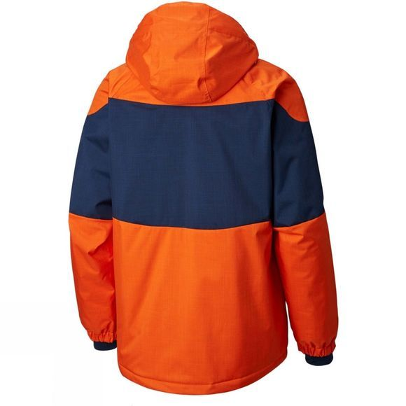 Columbia Men's Alpine Action Jacket Backcountry Orange/ Coll Navy