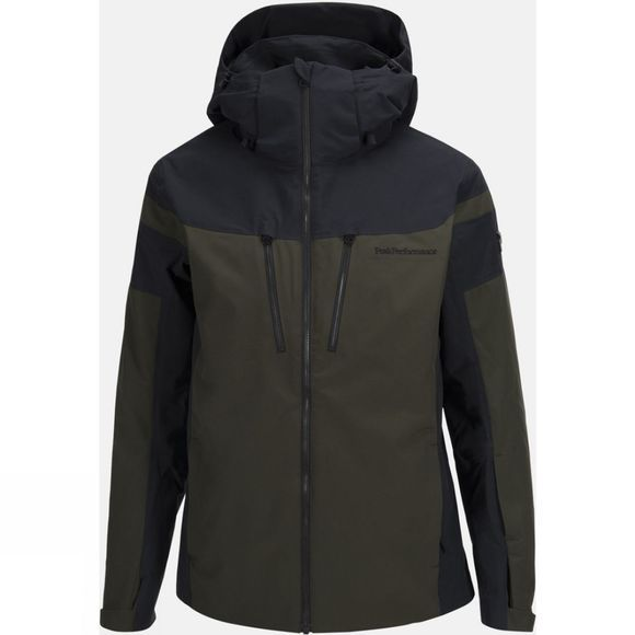 Peak Performance Mens Lanzo Jacket FOREST NIGHT