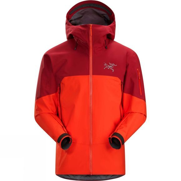 Arc'teryx Mens Rush Gore-Tex Pro Jacket Firecracker