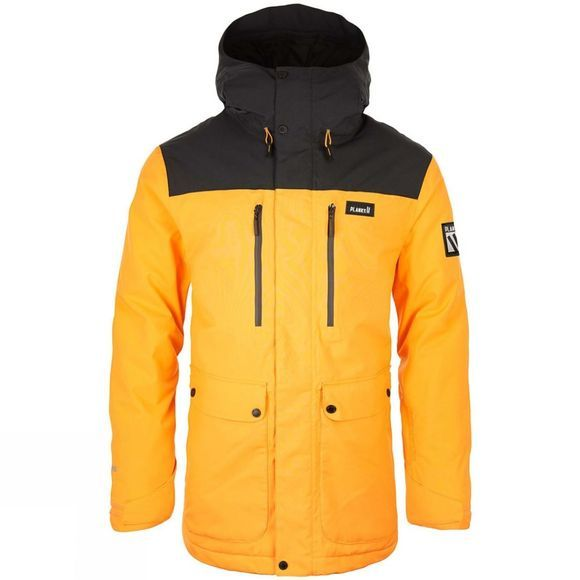 Planks Mens Good Times Jacket Sunset Yellow