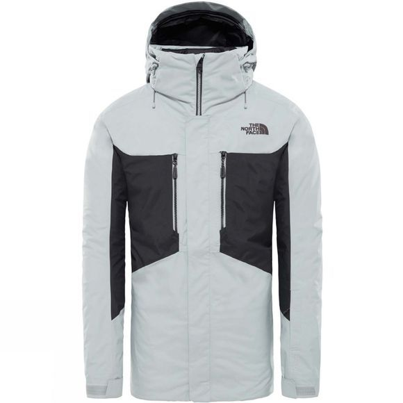 The North Face Mens Clement Triclimate Jacket High Rise Grey/Asphalt Gr