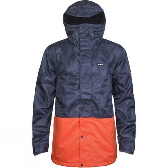 Planks Mens Feel Good Jacket Midnight Palm