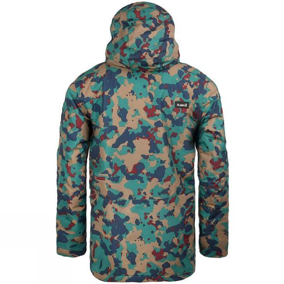 Planks Mens Feel Good Jacket Autumn Camo