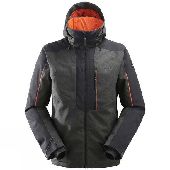 Eider Mens Brooklyn 2.0 Jacket Raven (Orange Pops)