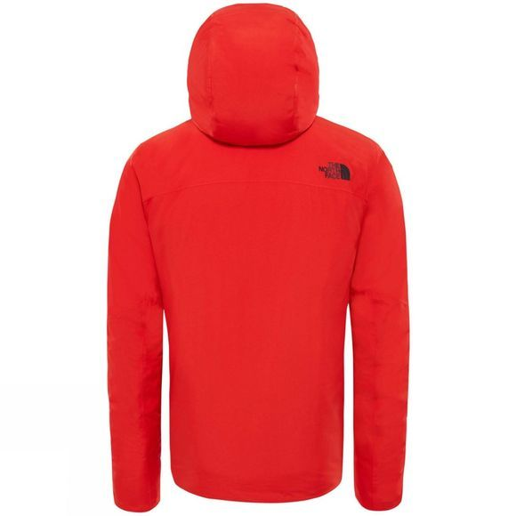 The North Face Mens Descendit Jacket Firey Red
