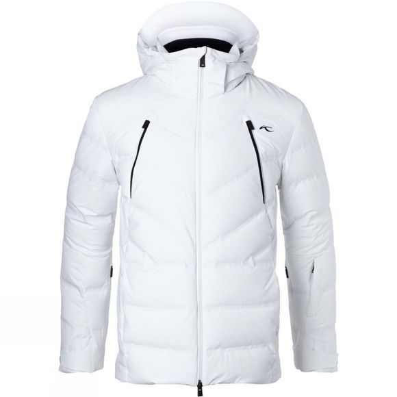 KJUS Mens Downforce Jacket White