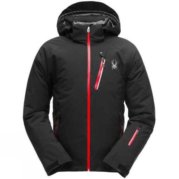 Spyder Mens Tripoint Gore-Tex Jacket Black/ Red/ Black
