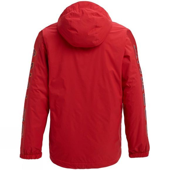 Analog Mens Chainlink Anorak Princess Red