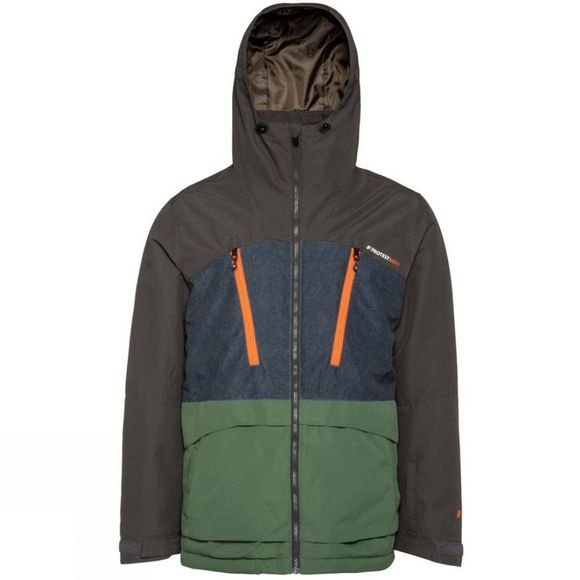 Protest Mens Buston Snow Jacket Amazone