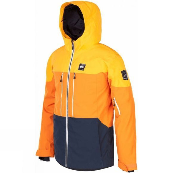 Picture Mens Object Jacket Yellow