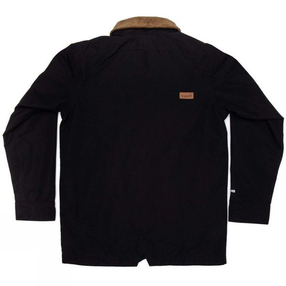 Planks Men's Throw-Down Collared Jacket Black