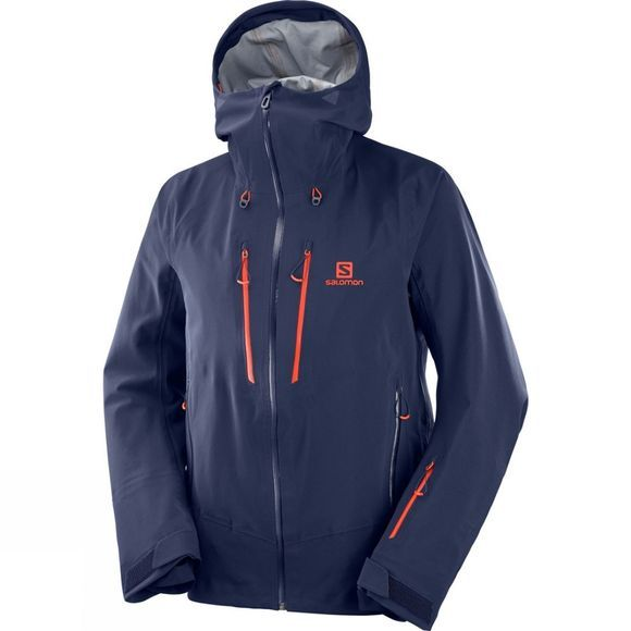 Salomon Mens Icestar 3L Jacket Night Sky