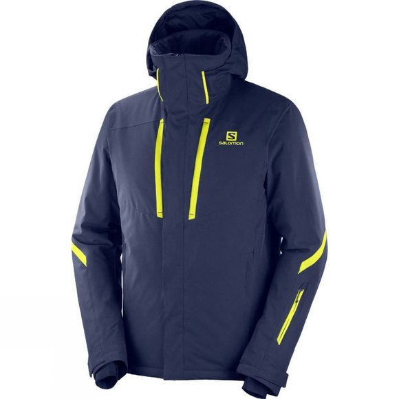 Salomon Stormseason Jacket Night Sky/Night Sky
