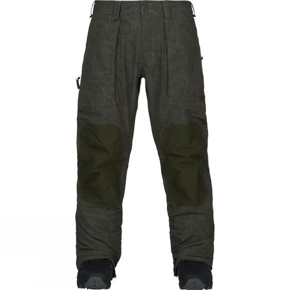 Burton Men's Southside Pant Mid Fit Forest Night Ripstop / Forest Night