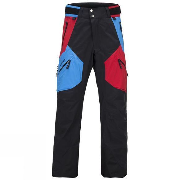 Peak Performance Men's Heli 2L Gravity Gore Tex Snow Pants  Chinese Red Multi