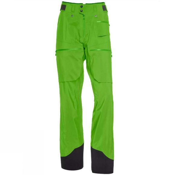 Norrona Mens Lofoten Gore-Tex Pro Light Snow Pant Clean Green